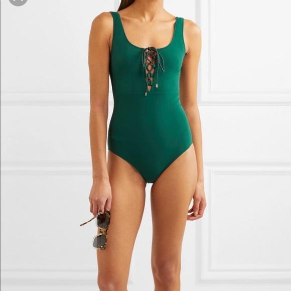 4300ebe6114 Stella McCartney Swim   New Lace Up One Piece Sui   Poshmark